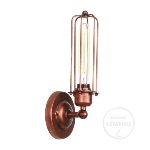 Vintage Industrial aplique de pared luces Wandlamp Retro lámpara de pared 110V-220V E27 / E26 interior dormitorio baño balcón Bar lámpara de pasillo