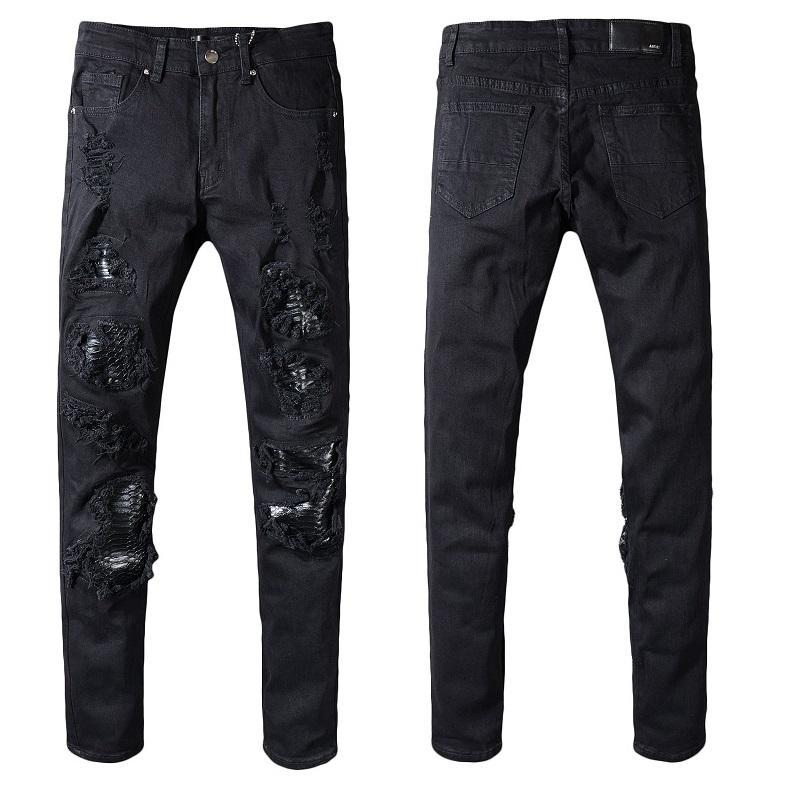 Новый стиль мужской дизайнер карандаш джинсы письмо печатные джинсовые брюки мода клуб одежда для мужчин Бесплатная доставка хип-хоп узкие джинсы размер США