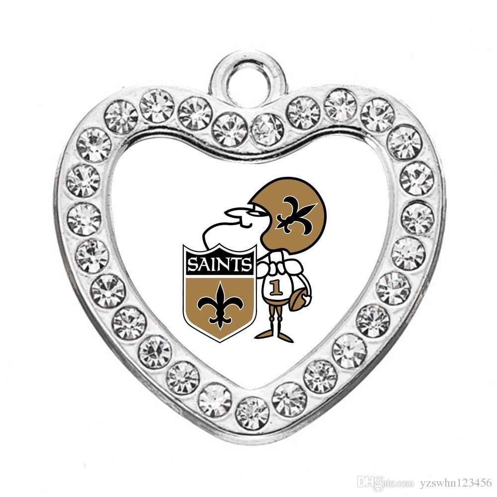 Encantos personalizada Nueva Orleans colgante de la pulsera del collar de bricolaje joyería que hace accesorios hechos a mano