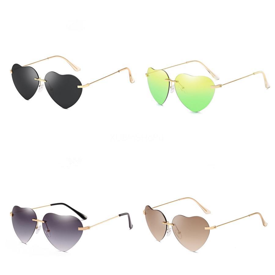Vintage Cateye klassische quadratische Heart-Shaped Sunglasee Frames Anti-Blau-Licht-Männer Damen Designer Sunglass Bands Gafas De Sol S320 Mit Beutel # 8
