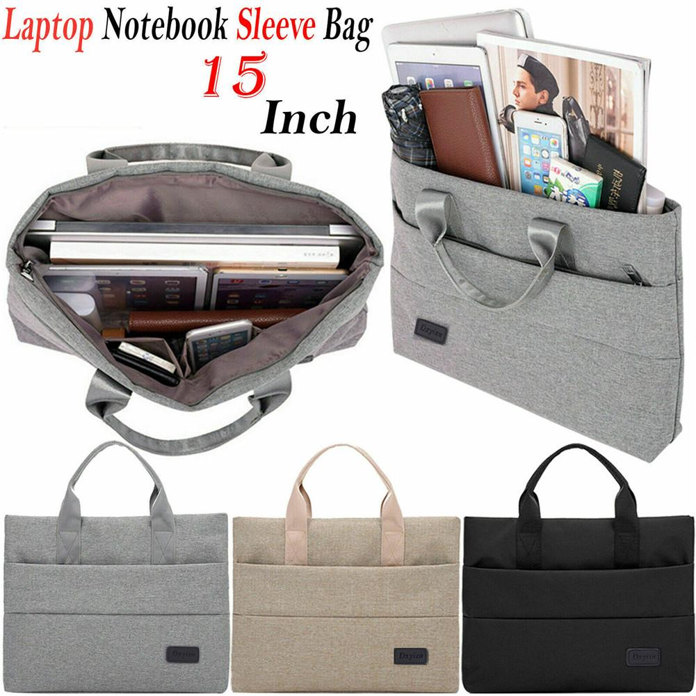 Laptop Notebook Sleeve Carry Case Hand Bag For 11 13 15 MacBook Air Pro Retina