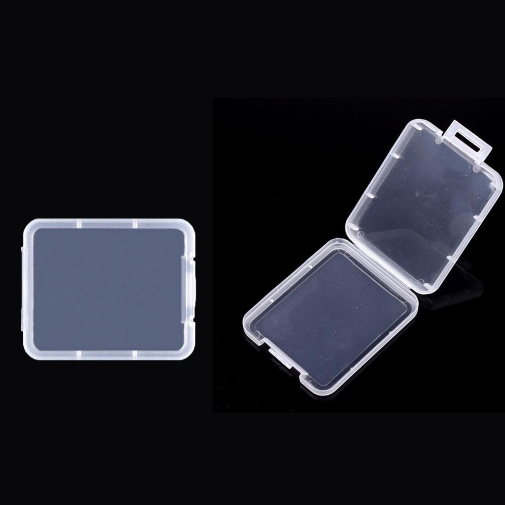 carta di Shatter Contenitore Protection Box Cassa di carta di contenitore della scheda di memoria CF Scatole di plastica trasparente strumento di archiviazione facile da trasportare