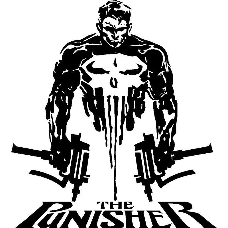 57x80 cm Sticker Punisher