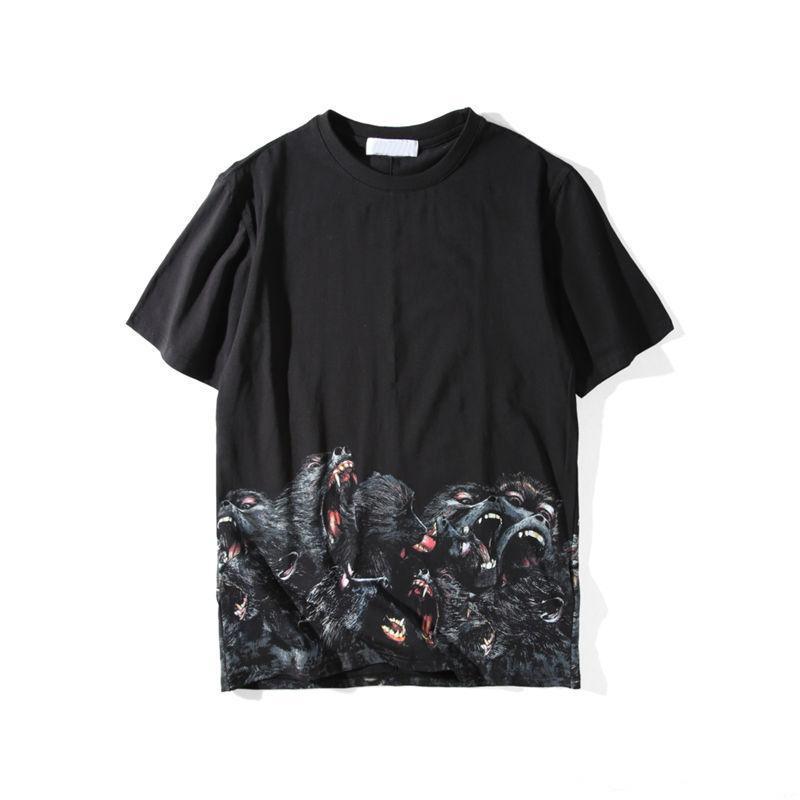 De lujo Camiseta para hombre Ropa 3D orangutanes camisetas del verano de la camiseta de Hip Hop Hombres Mujeres manga corta de algodón camisetas camisetas del tamaño S-XXL