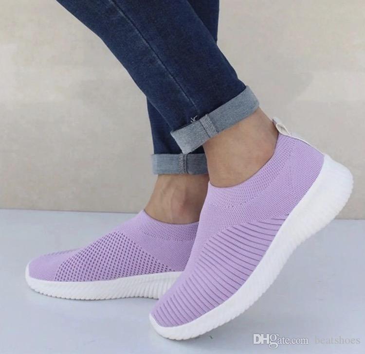패션 럭셔리 디자이너 여성 신발 양말 최고의 트레이너 운동화 뜨개질 높은 품질 캐주얼 스포츠 신발 여러 색상 편안한 신발