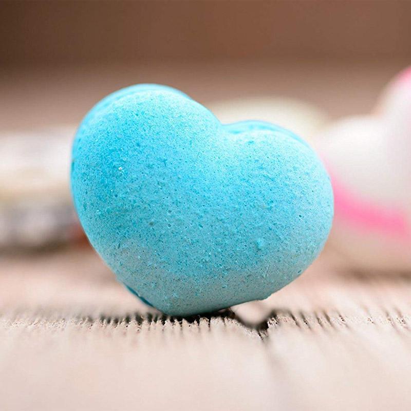 a forma di cuore 10pcs di Natale Tress trasparente aperto Plastica Acrilico trasparente Presente Fillable palla ornamento regalo decorazione della scatola