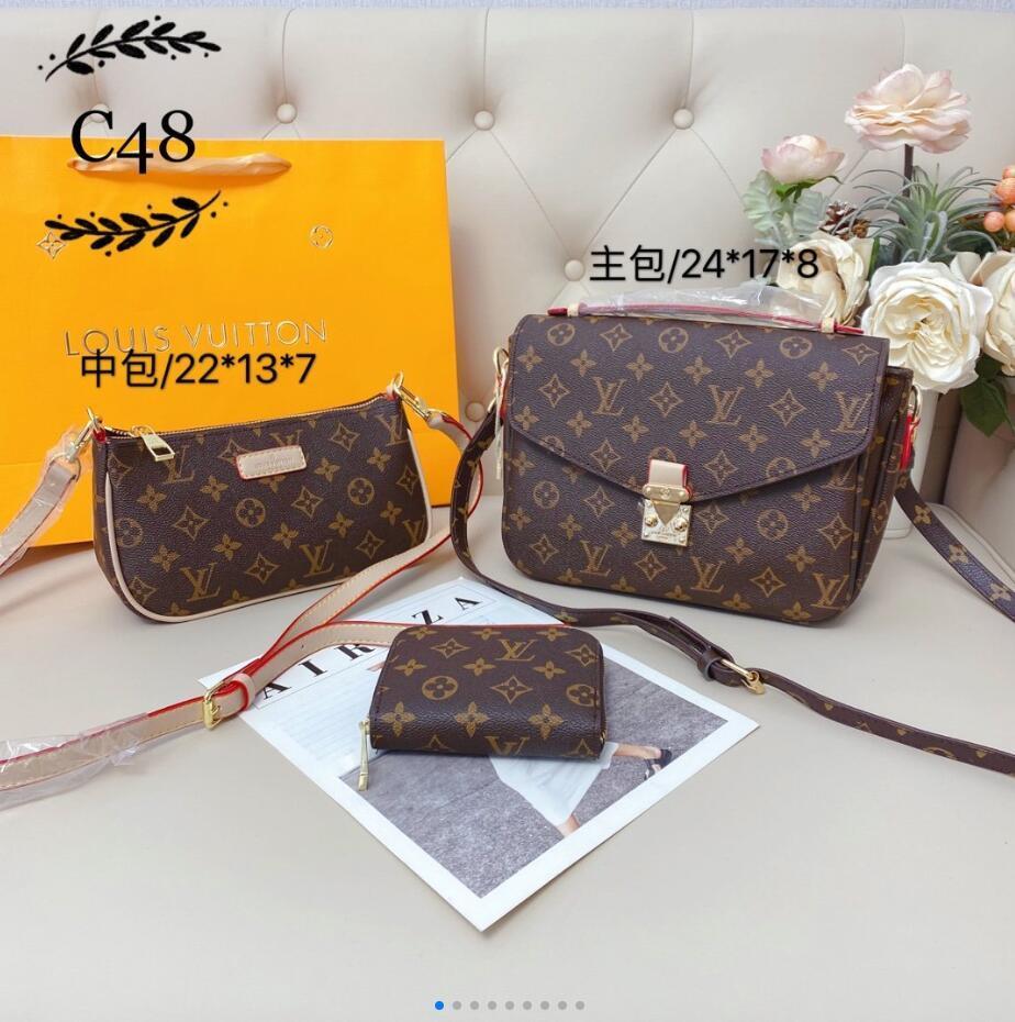2020 vendita calda borse sacchetti di spalla delle donne del progettista di lusso crossbody messaggero buoni borse in pelle di qualità borsa delle signore tote 002