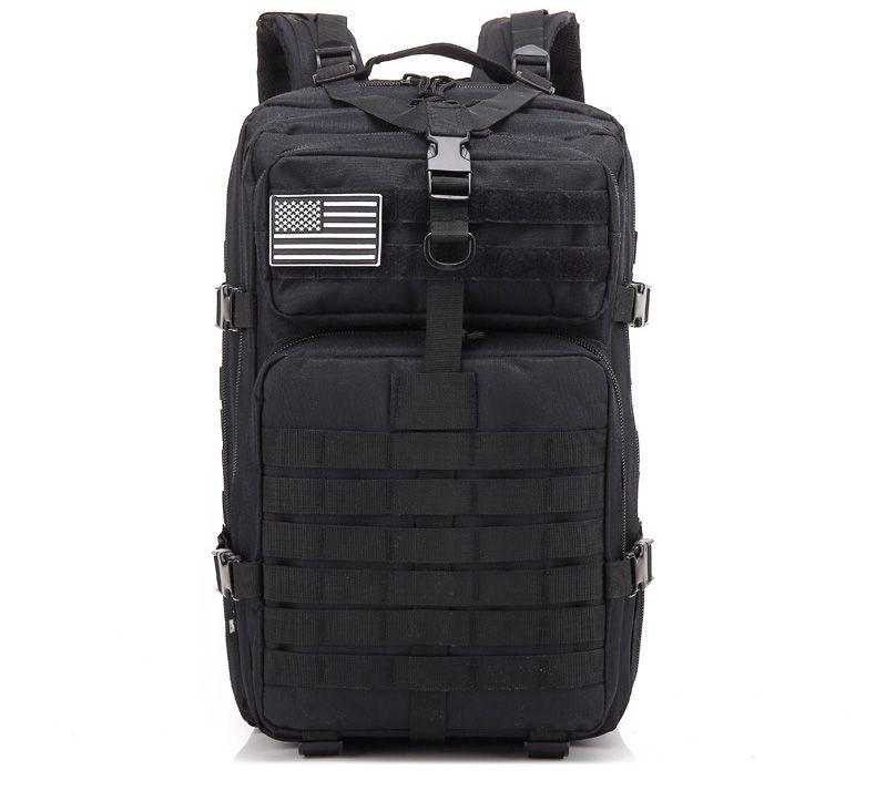 Zaini Laptop Backpack Men nylon 600D militare dell'esercito impermeabile Zaino sacchetto di scuola d'epoca per gli uomini 42L