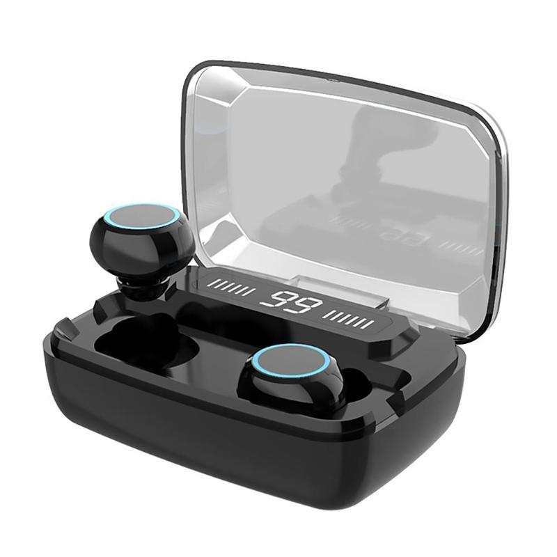 ستيريو M11 بلوتوث V5.0 سماعة لاسلكية سماعات TWS التحكم باللمس الرياضة سماعات لاسلكية سماعات الأذن سماعة 3300mAh لمدينة