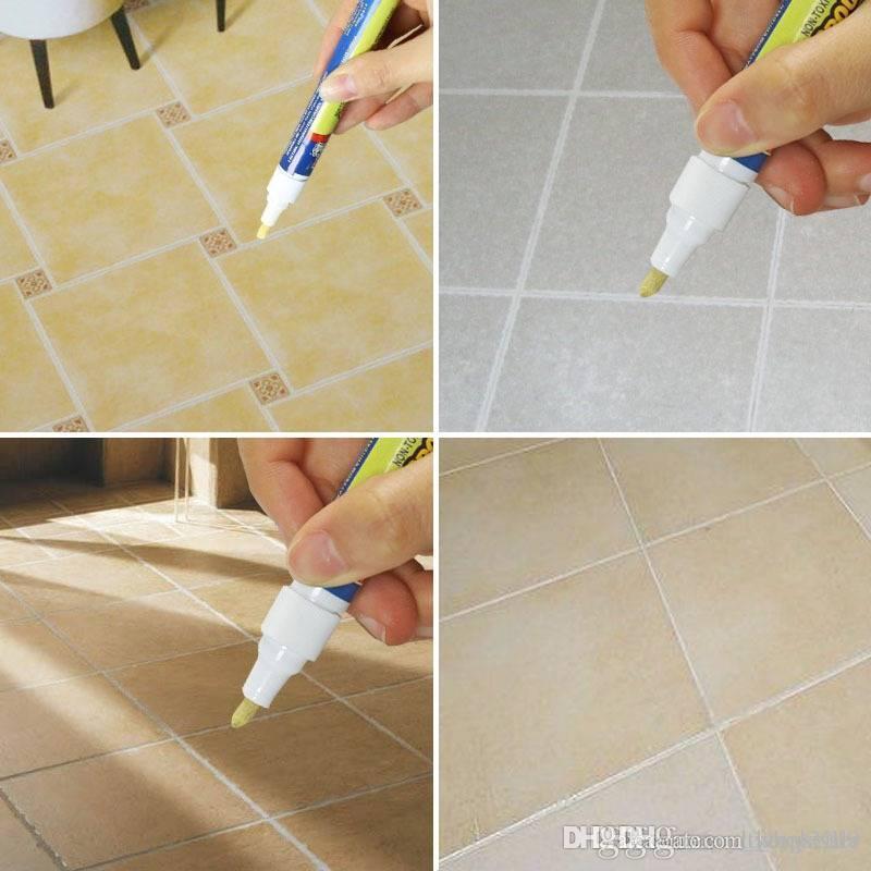 20pcs Grout Aide Reparatur Tile Marker Wand-Feder mit Kleinkasten TV Tile-Reparatur-Feder, geben Sie bitte die Wand Praktische Reparatur-Werkzeuge Haus-