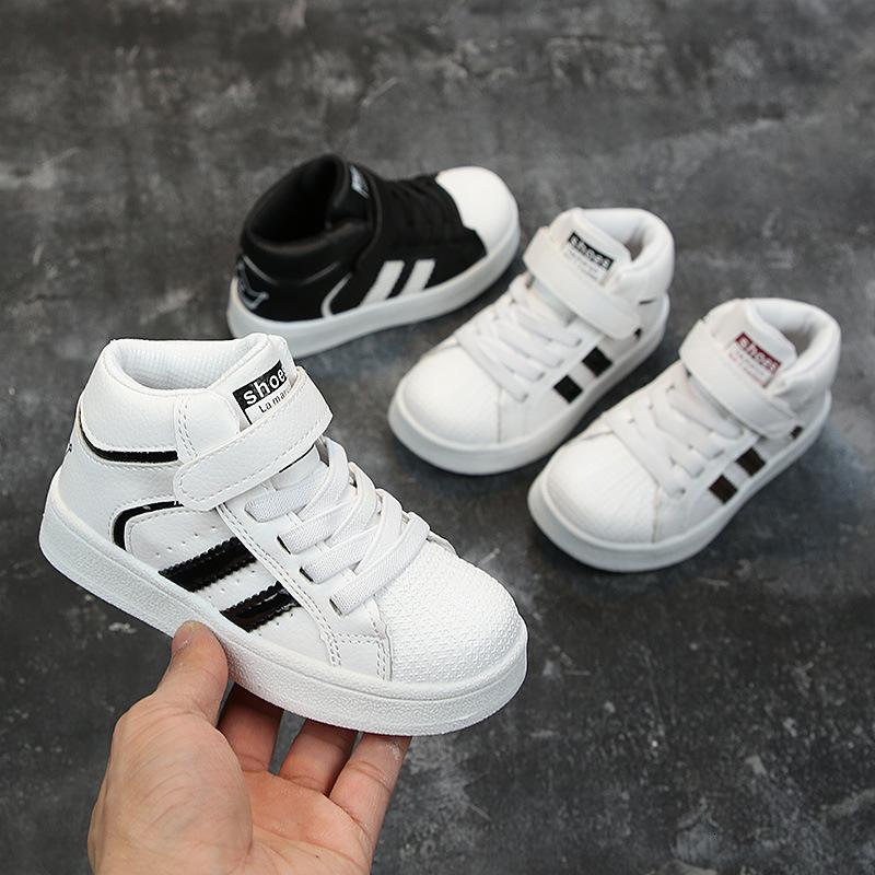 Осенние детские кроссовки катамит малыш для девочек мода спорт мальчик женщина дети раковина голова детская обувь случайные маленькие белые туфли