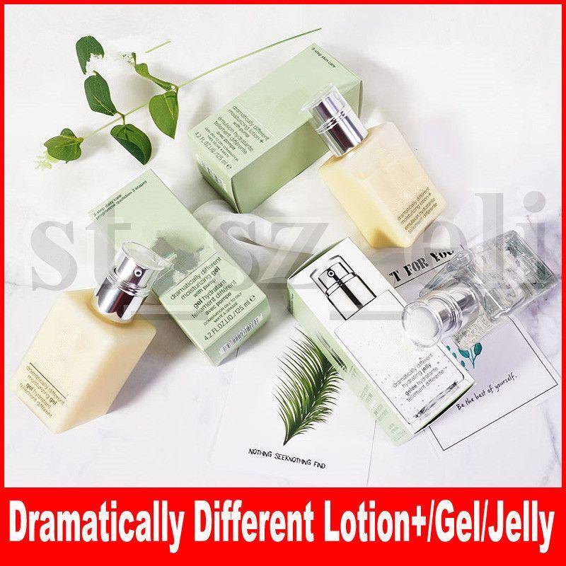 Berömd ansikte smink hudvårdsmör dramatiskt olika fuktgivande gel + lotion olika hydrerande gelé 3 typer