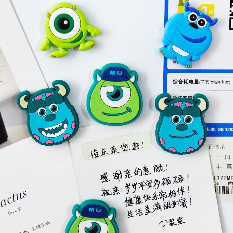 Carino silicone Cartoon anime magneti frigo lavagna sticker Frigorifero Magneti Per Bambini giocattolo regalo Decorazione Della Casa all'ingrosso Spedizione gratuita -28