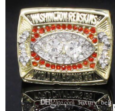Wholesale New 1987 Redskin Super Bowl World Championship Ring Manufacturer fast delivery