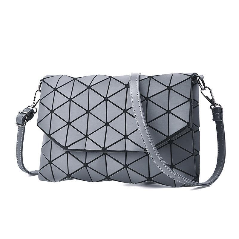 Fashion Small Plaid Geometric Envelope Handbag Women Crossbody Bags For Women Clutch Bags Ladies Messenger Shoulder Bag 2019 Y19061301