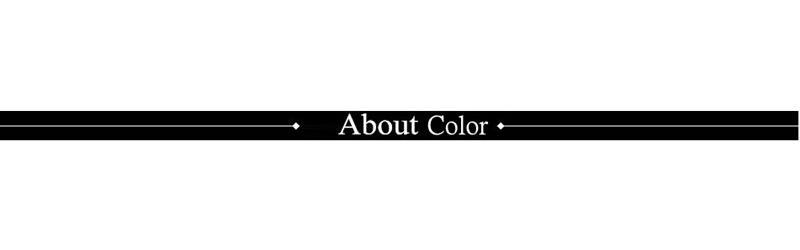 About color