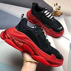 Erkek Ayakkabı Üçlü S 3.0 moda tasarımcısı Günlük Ayakkabılar Lüks ayakkabı kadın Kombinasyon Azot Taban Kristal Alt baba Günlük Ayakkabılar b293