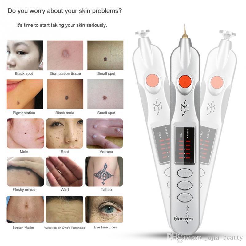 Profesional de fibroblastos de Párpados Cirugía de estiramiento facial piel plasma pluma arrugas punto de remoción de lunares plasmapen de luz y de alta calidad Máquina de belleza
