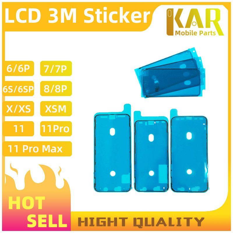 Высокое качество водонепроницаемый стикер для iPhone 6 6G 6S 7 7G 8 8G X XS 11 11 PRO ЖК-экран лента 3 м клей Клей запчасти Бесплатная доставка