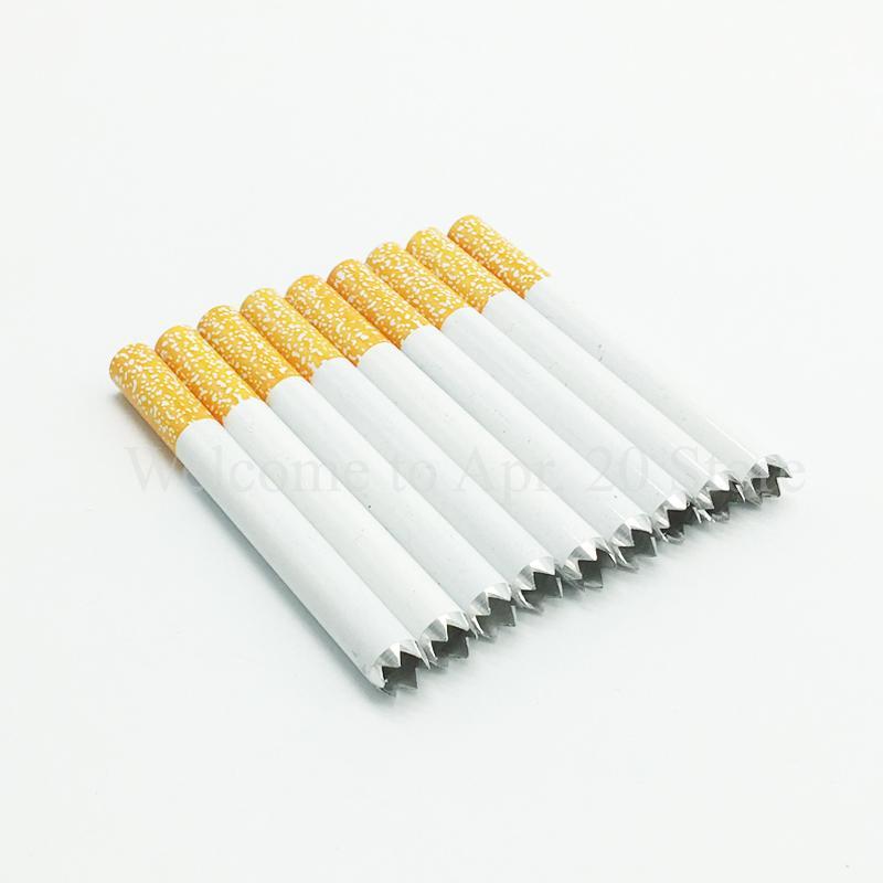 Digger Cigarette Hitter Pipe 78mm Cigarette En Dent De Scie Tuyau One Hitter Bat Meilleur Pipe Fumer Livraison Gratuite MP006