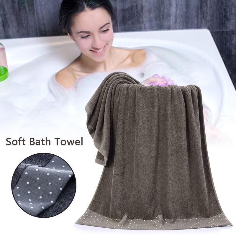 Algodão banho de algodão Toalha Chuveiro sono Washcloth 70 X 140 centímetros Quente Thicken