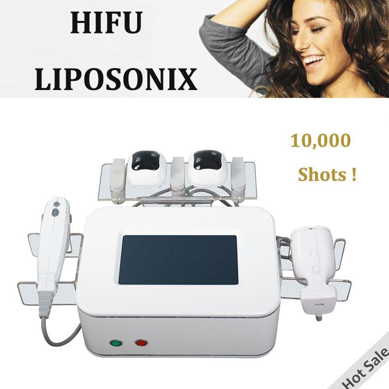 آلة الجمال hifu عالية التردد آلة شد الوجه فعالة liposonix hifu العلاج مع 30000 طلقات