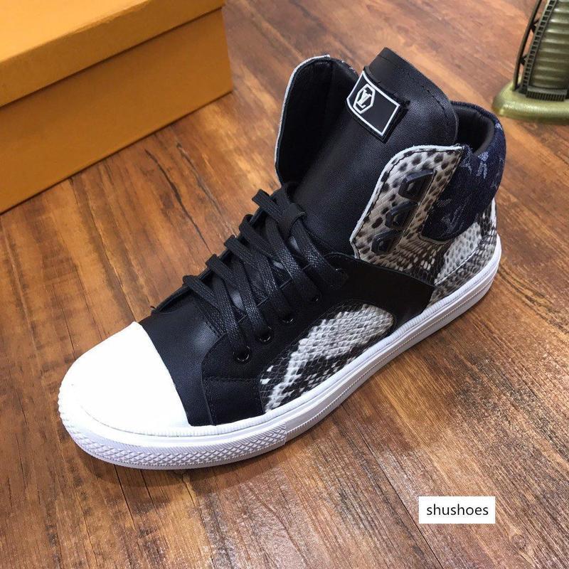 New26 zapatos de alta moda de los hombres de los deportes respirables de personalidad zapatos de los hombres de negocios cómodo desplazamiento ocasional zapatos para correr Zapatos