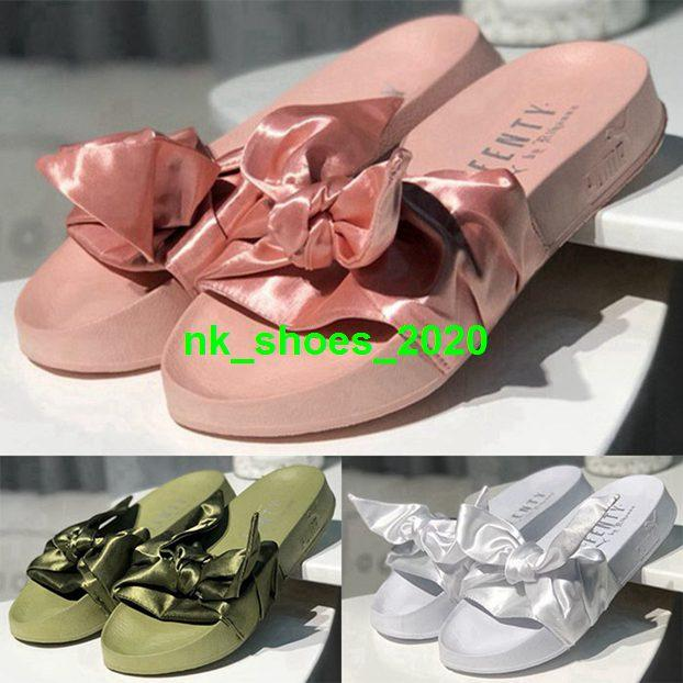 slides Men size 4 5 fashion Mens sandals slippers us 12 Shoes women fenty rihanna eur 35 46 thong with box children cork youth boys casual