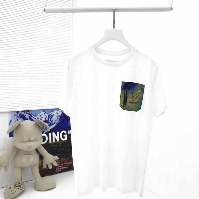 3D eleman cebi tişört 2020 lüks giysi tasarımcısı tişörtleri erkek eşofman kadın giysileri kapüşon 2020 yeni tasarımcı t shirt womens