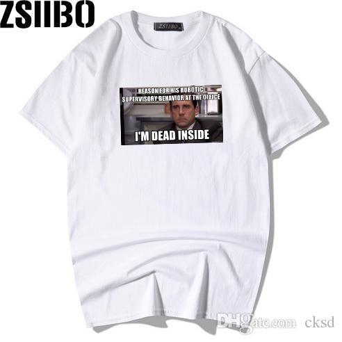 2019 Verão Novo T-shirt 3D impressão Padrão escritório T-shirt dos homens e das mulheres camisa casual de manga curta de fitness tees MC112