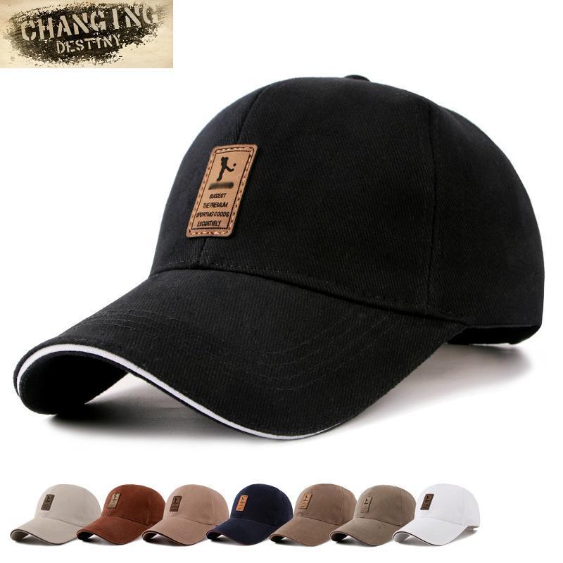 7 Farben Modedesigner Herren-Golf-Hut Basketball Caps Cotton Caps Sport-Mann-Baseballmütze für Männer und Frauen Brief Cap