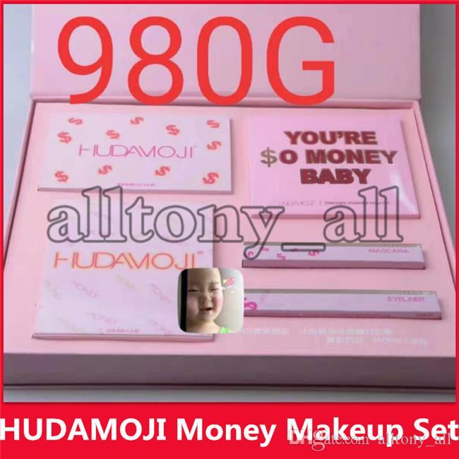 2019 Hot Marque de maquillage de VOUS êtes ARGENT POUR BEBE maquillage de kit de maquillage eyeliner mascara rouge à lèvres fard à paupières DHL Livraison gratuite