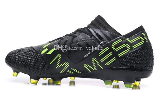 Top good price trainers messi 17.1 FG Training Sneakers,18.1 Agility FG Sports Running shoes,17+ 360 Agility online shopping for sale