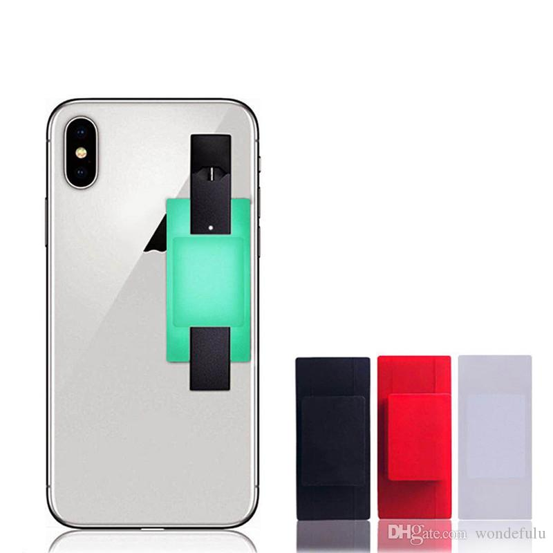High Quality Silicone Cell Phone Holder Sticker Cover For JUUL Vape Pen  JUUL Holder Large Quantity IN STOCK Micro Coil Tool Paper Winding Machine  From