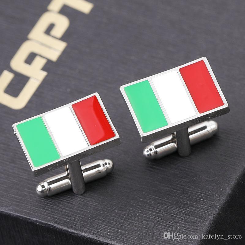 Italy Flag Cufflinks