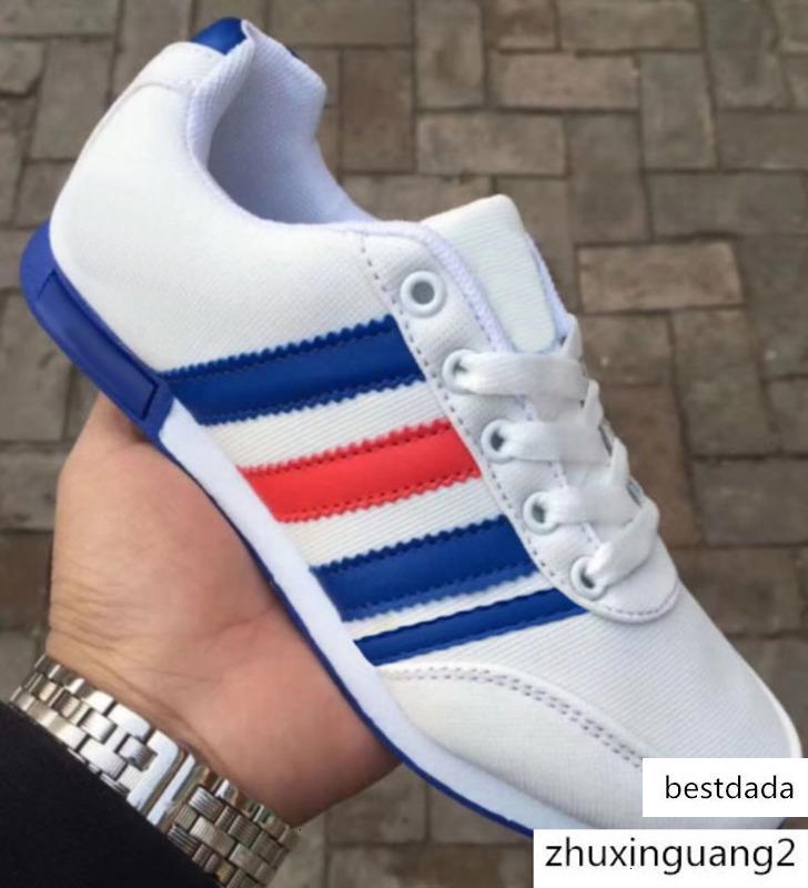 2020 New Designer-Beleg auf Männer Frauen Lederschuhe Arbeiten Sie Breathable Gehen verursachende Schuhe Männer flache Müßiggänger Männer Schuhe Big Size 36-45