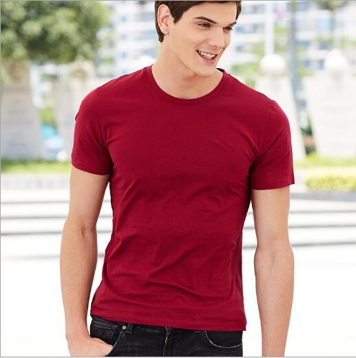 Fashion-The new spring and summer of 2018 men's T-shirt youth short-sleeved tide cotton round collar T-shirt male cultivate one's morality