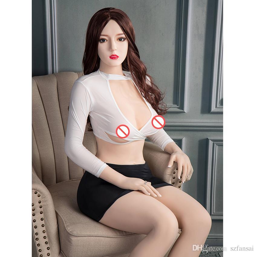 2019 nouvelle poupée de sexe en silicone réaliste taille réelle modèle super star sexdolls adulte sexe vagin pour homme