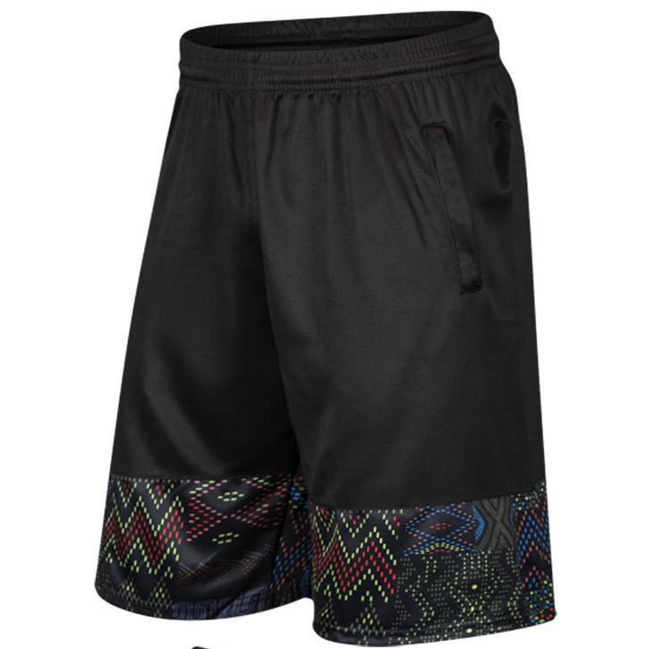 Nuovo progettista Mens pantaloncini estivi bicchierini di stile di disegno stampato pantaloni casual da uomo brevi solido di modo di sport di marca brevi pantaloni jogging N2