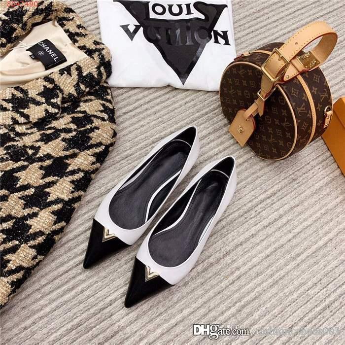 2020 إمرأة مطابقة اللون مدبب الأحذية ذات الكعب العالي، مع مجموعة واسعة من الأحذية ذات الكعب خنجر للعمل فستان الأحزاب حجم 35-39