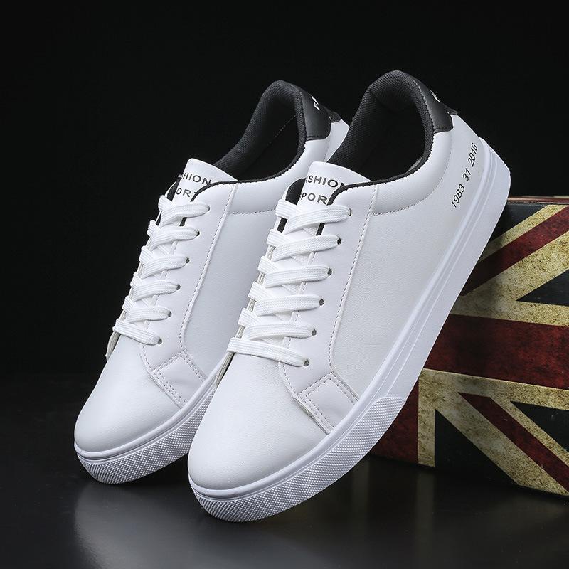 diversificado en envases último diseño moda atractiva Compre Zapatos Blancos De Primavera Para Hombres Zapatos Casuales Para  Hombre Zapatillas Cool Street Hombre Marca Hombre Calzado Hji89 A $32.06  Del ...