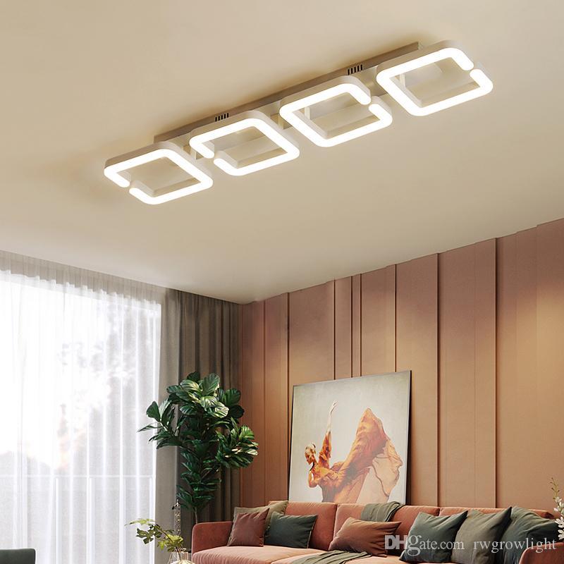 Nordic Montado en Superficie llevada moderna lámpara de techo para el dormitorio pasillo luminaria LED interior del balcón de techo Decoración Iluminación RW35