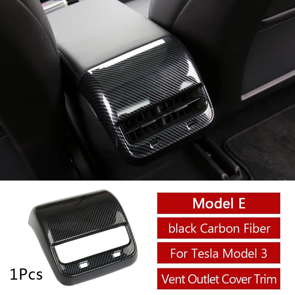 CKE Tesla Steering Wheel Cover Carbon Fiber Interior Trim Panel For Tesla Model 3 2018 2019
