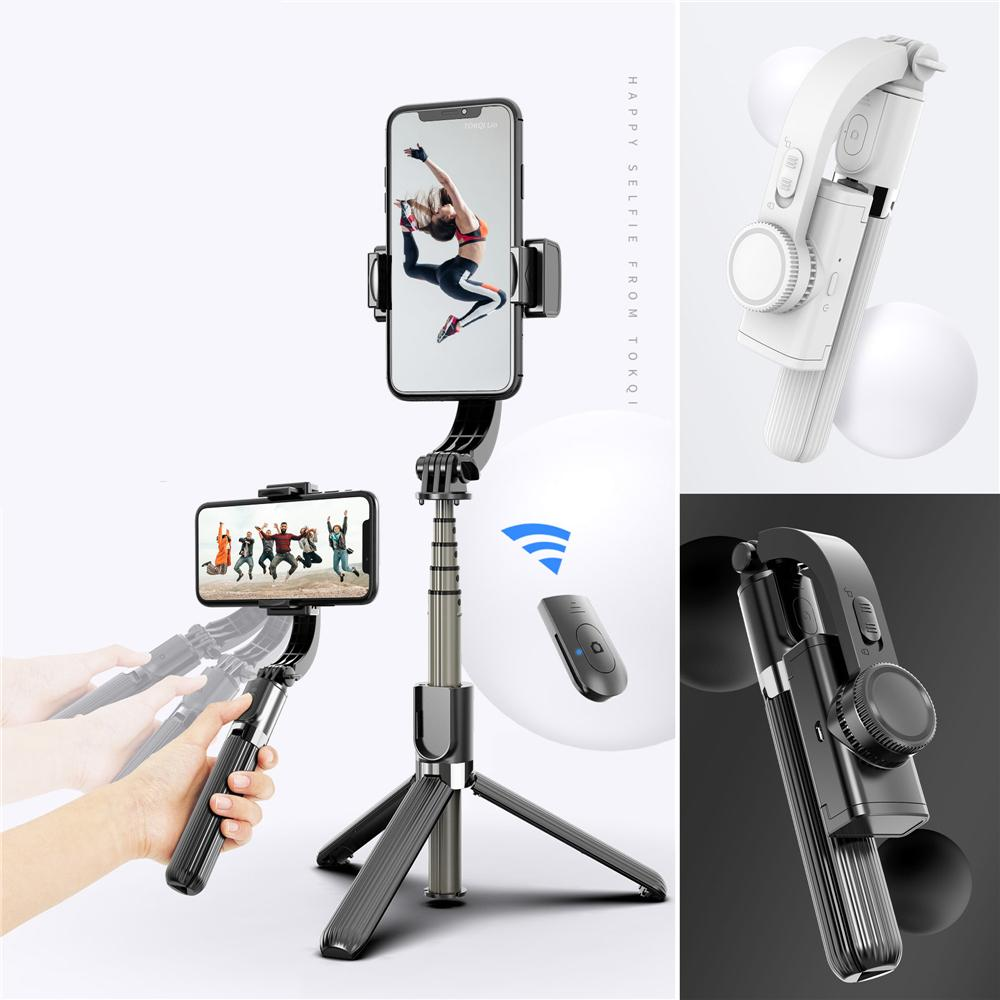 Color : White Rugged Tripod PC Tripod Selfie Stick Retractable Portable One Bluetooth Selfie Artifact Mobile Phone Universal Tripod Selfie Stick Compatible with Multiple Systems Best Gift