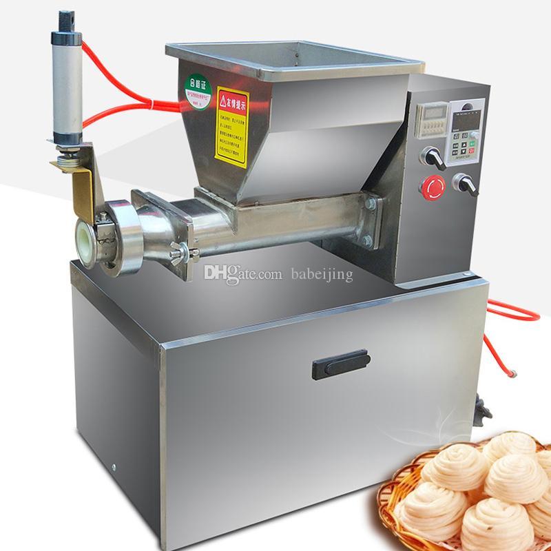 220V 110V automática masa máquina de corte para un corte preciso de la masa de queso llenado neumático sonda inducción masa máquina de corte