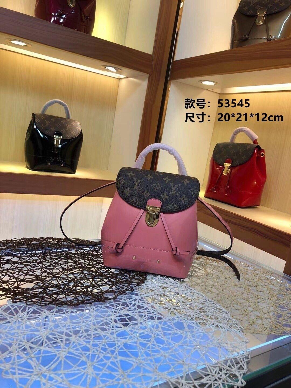 mit Deckel Tunnelzug großer Kapazität Reise Qualität Beste Wahl Trend Mode-Stil bagpack 022.003 Rucksack Frauen