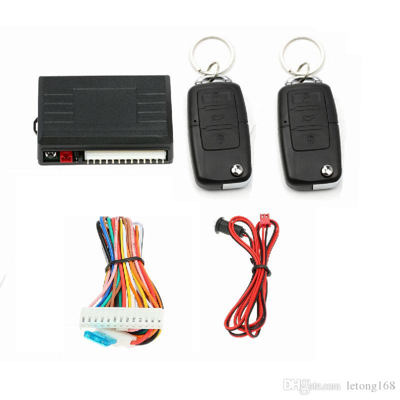 433.92MHz Remote Central Kit Door Lock Unlock Electric car Lock and Air Lock Window Up Keyless Entry System
