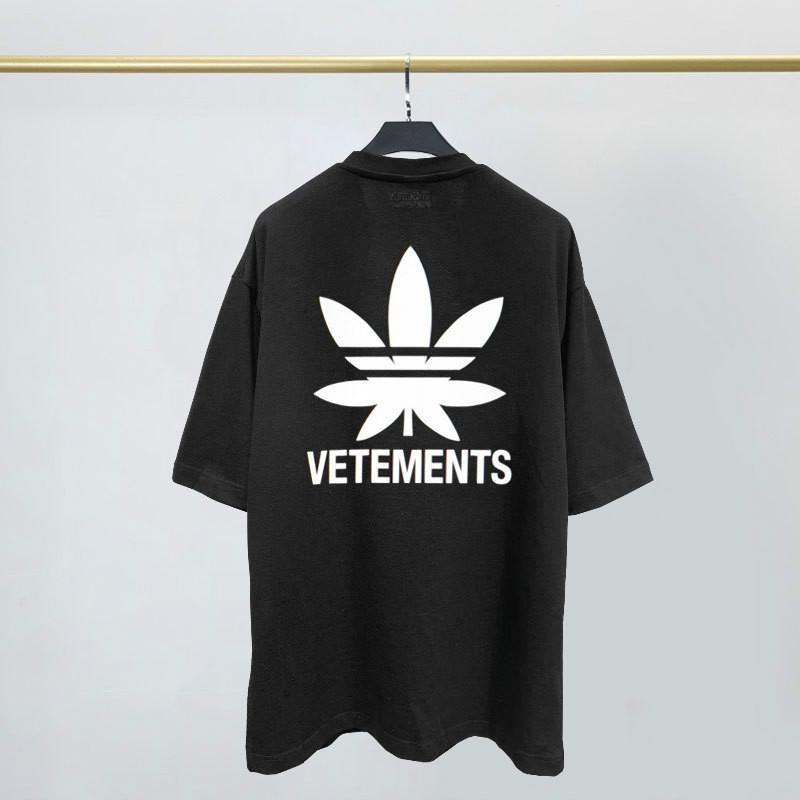 2020 Frankreich Straße Tide Vetements kurzärmeliger Herr Designer-T-Shirt VTM Maria Logo gedruckt lose T-Shirt Sommer-Männer und Frauen Cotton Tee