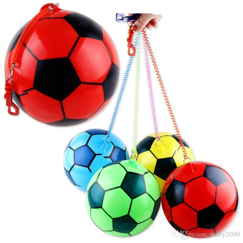 giocattoli gonfiabili dei bambini dei nuovi bambini praticano calcio ispessimento prezzo di fabbrica di calcio catena di vendita calda all'ingrosso estera