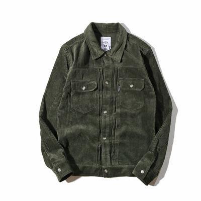 Großhandel Übergroßen Von Herren Jacken Mantel A72410 Männlichen Hip Windjacke Männliche Streetwear Herbst Vintage Cord Mode Bomber Hop Baseball 8nw0yOvmN